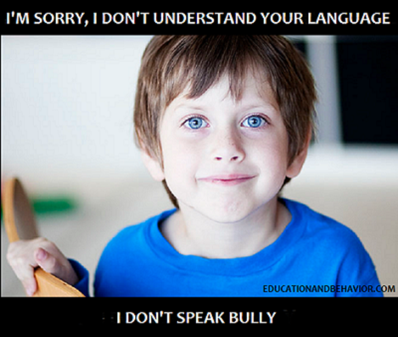 positive anti-bullying messages