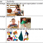 Sample After-School Visual Schedule for Kids with Sensory Needs or Impulsive/Hyperactive Behaviors